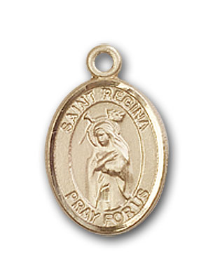 Gold-Filled St. Regina Pendant