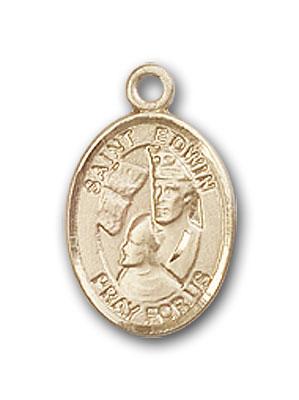 14K Gold St. Edwin Pendant