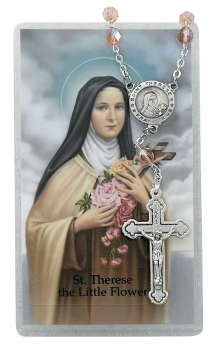 St Therese Auto Rosary/Prayer