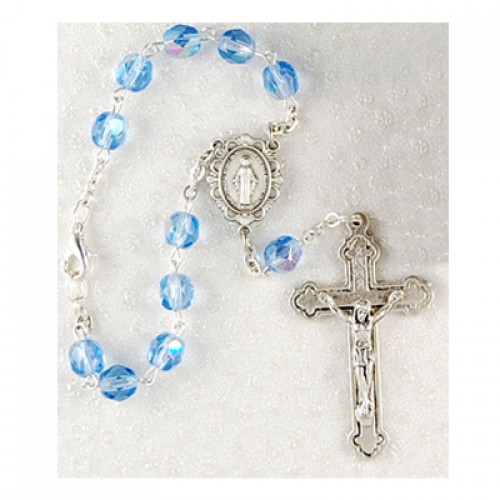 Miraculous Auto Rosary/Carded