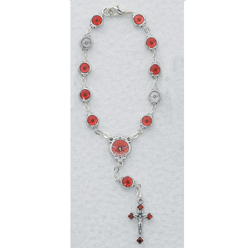 Holy Spirit Auto Rosary/Carded