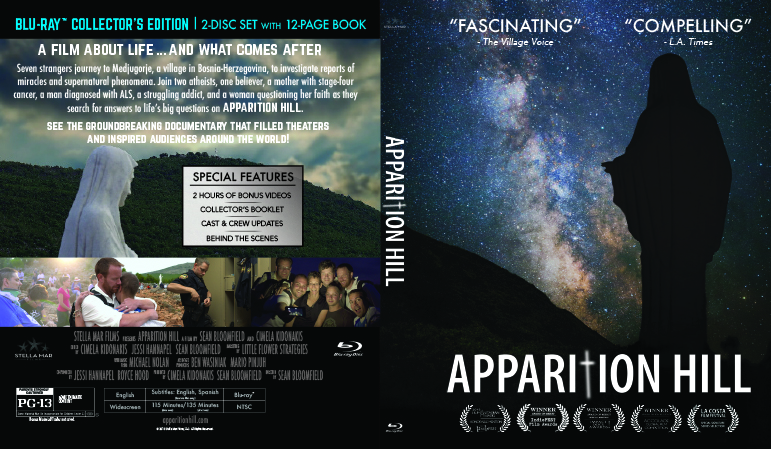 Apparition Hill Blu Ray