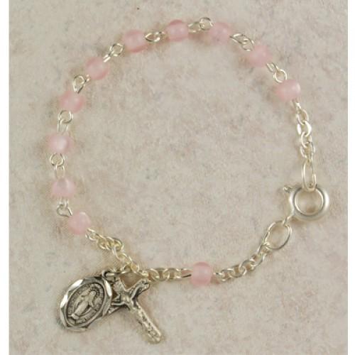 "5 1/2"" Pink Baby Bracelet"