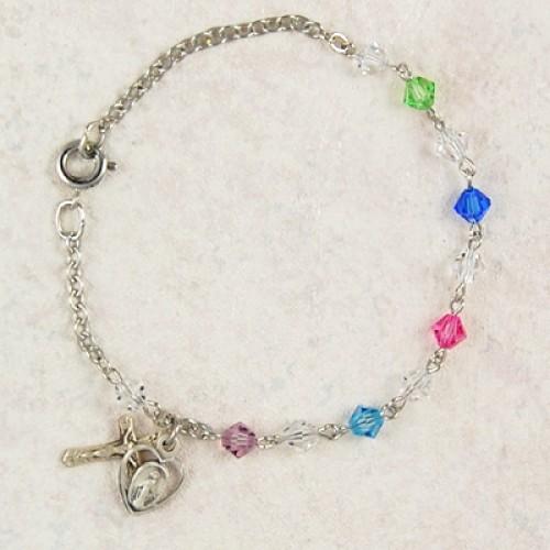 """7.5"""" Multi Swarovski Bracelet"""