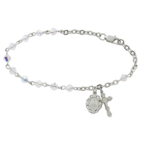 "7.5"" Crystal Swarovski Bracele"