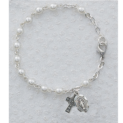 "6 1/2"" Pearl Irish Bracelet"