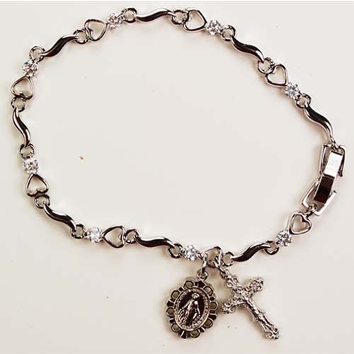 "6 1/2"" Heart Bracelet"