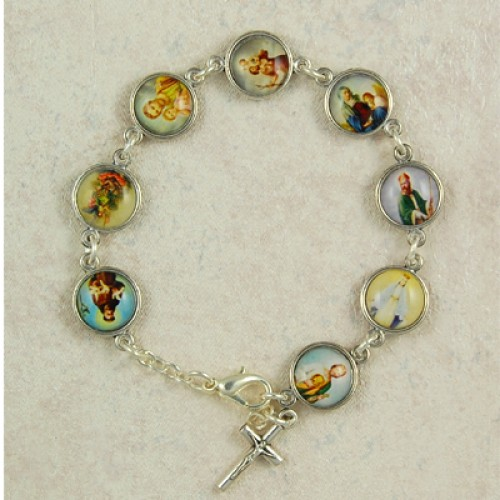 """7 1/2"""" Patron Saint Bracelet"""