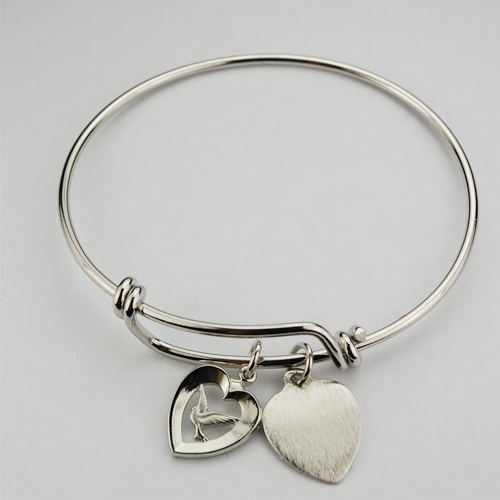 Youth  Heart/Dove Pewter