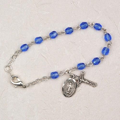 """5 1/2"""" Blue Baby Bracelet"""