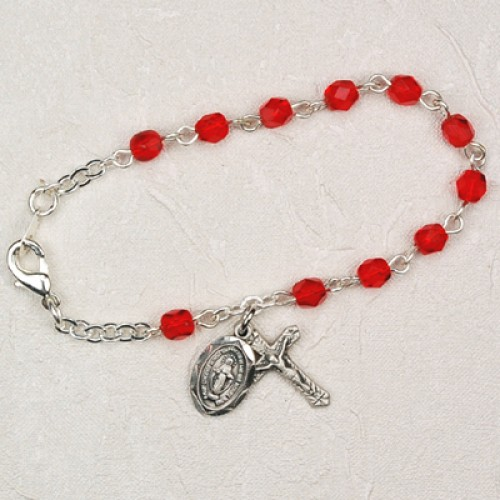 "5 1/2"" Ruby Baby Bracelet"