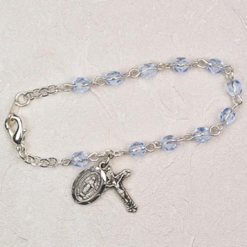 "5 1/2"" Zircon Baby Bracelet"