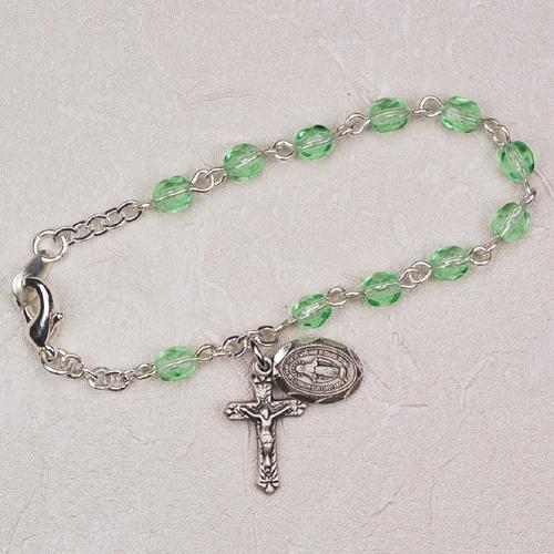 "5 1/2"" Peridot Baby Bracelet"