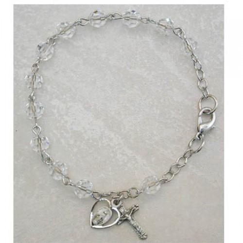 "7.5"" Crystal Swarovski Bracelet"