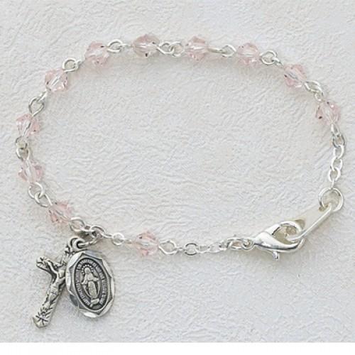 "5 1/2"" Rose Baby Bracelet"