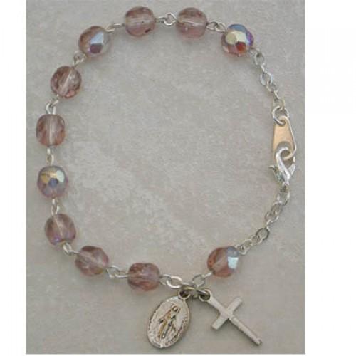 "6 1/2"" Amethyst Bracelet"