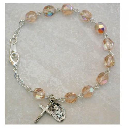 "6 1/2"" Rose Bracelet"