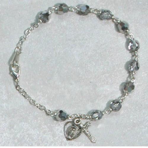 "7.5"" Crystal Labrador Bracelet"