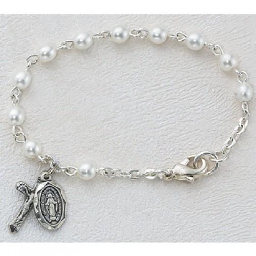 "5 1/2"" Pearl Baby Bracelet"