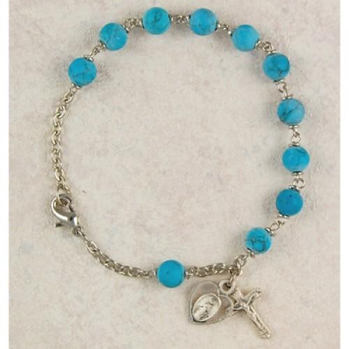 "7 1/2"" Turquoise Bracelet"