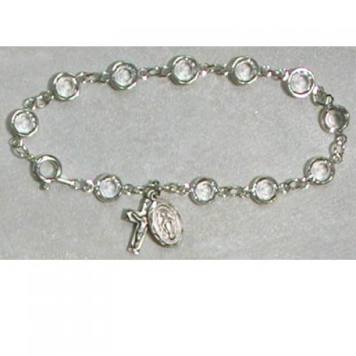 "7 1/2"" Crystal Bracelet"