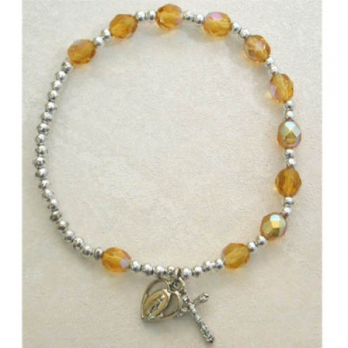 Topaz/Nov Stretch Bracelet