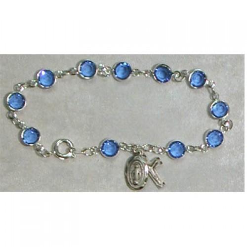 "7 1/2"" Sapphire Bracelet"