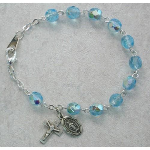 "6 1/2"" Aqua Bracelet"