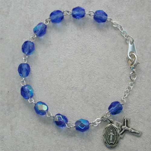 """6 1/2"""" Blue Bracelet"""