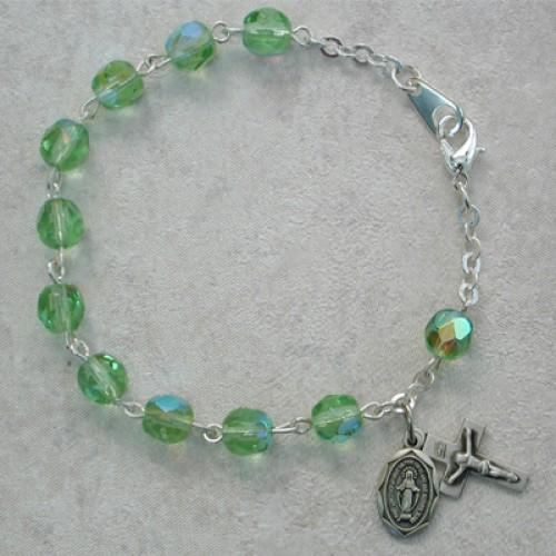 "6 1/2"" Peridot Bracelet"