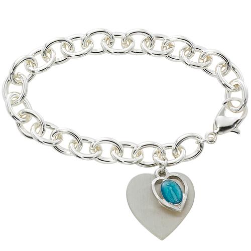 """7.5"""" Sterling Plated Bracelet"""