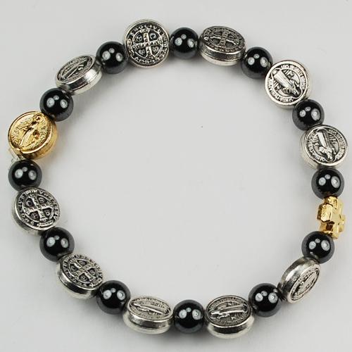St Benedict Stretch Bracelet