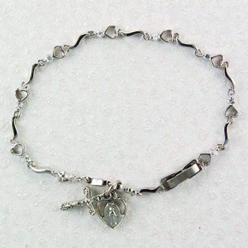 "7 1/2"" Heart Bracelet"