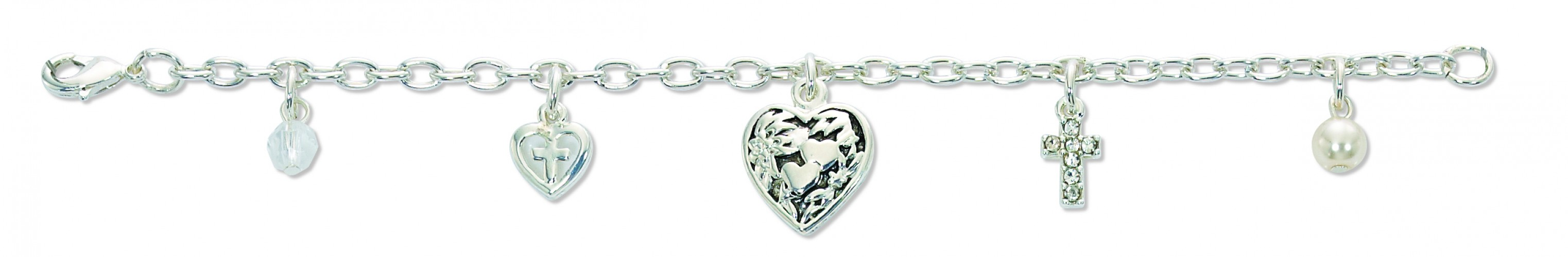 "6 1/2"" Communion Charm Braclt"