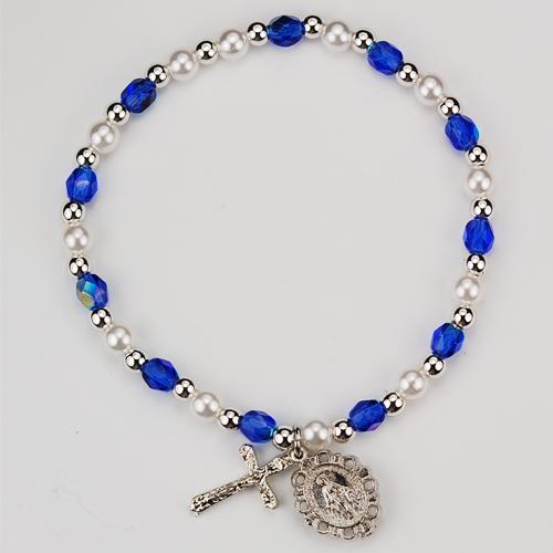 Youth Blue Stretch Bracelet