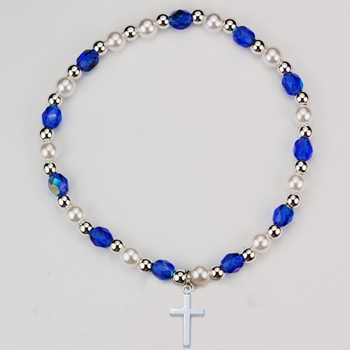 Youth Blue Stretch Bracelet