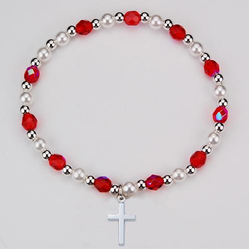 Youth Ruby Stretch Bracelet