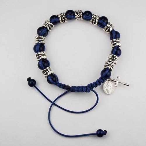 Blue Shamballa Bracelet