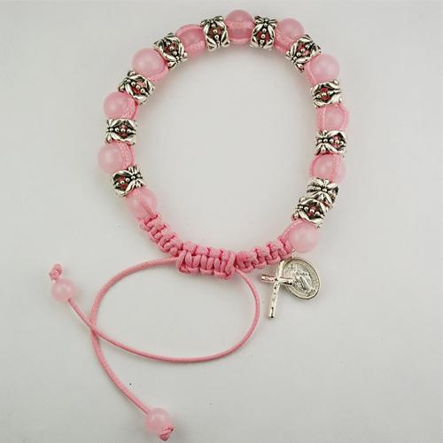Pink Shamballa Bracelet