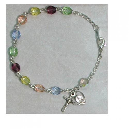 """7 1/2"""" Multi Color Bracelet"""