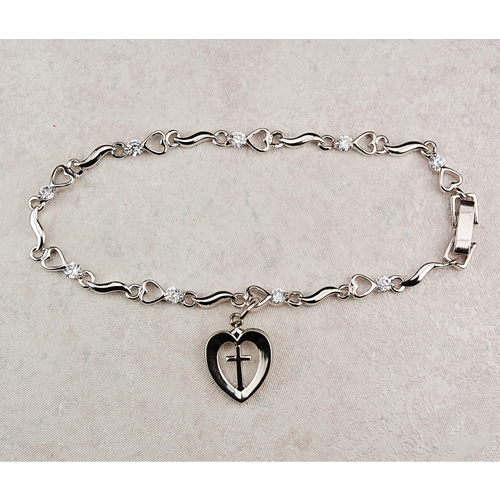 "7 1/2"" Cubic Zirconia Bracelet"""