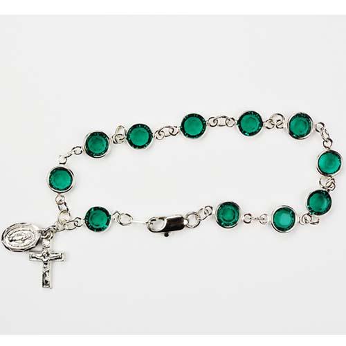 "7 1/2"" Emerald Bracelet"