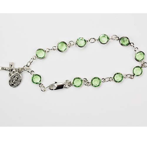 "7 1/2"" Peridot Bracelet"