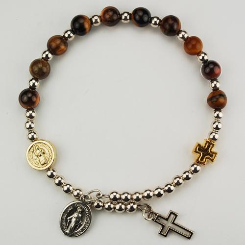 Genuine Tigr Eye Wrap Bracelet
