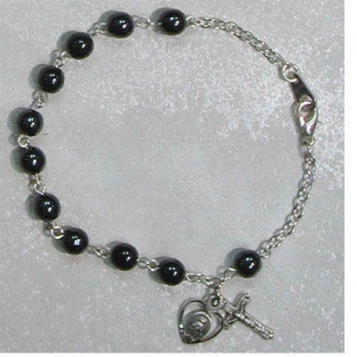 "7 1/2"" Hematite Bracelet"
