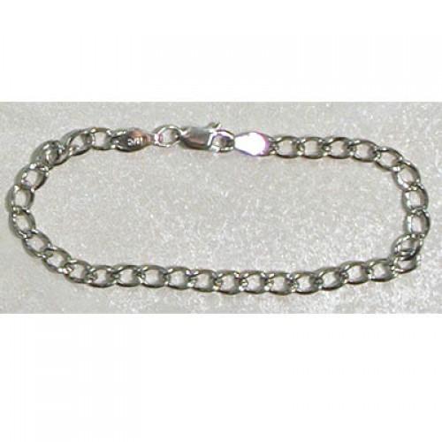 "6 1/2"" Sterling Charm Bracelet"