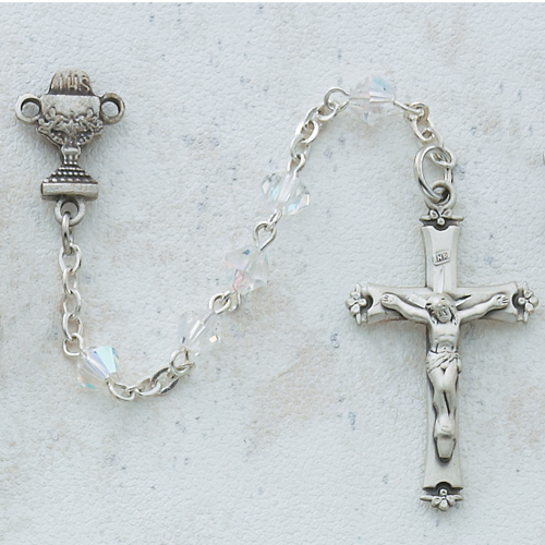 5MM Crystal Communion Rosary