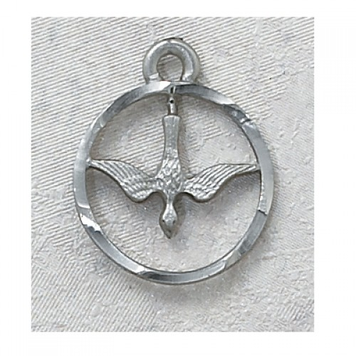 Pewter Holy Spirit Medal
