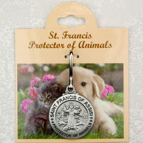 Pewter St Francis Protector Of