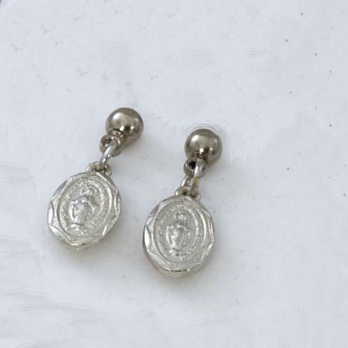 Rhodium Miraculous Earrings